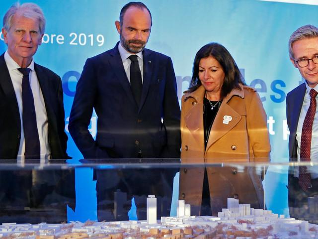 Coup d'envoi du futur village olympique des JO de Paris