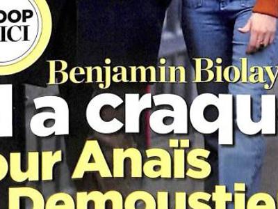 Benjamin Biolay a craqué pour Anaïs Demoustier, ça se confirme (photo)