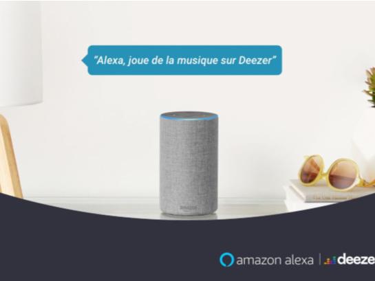 Deezer désormais disponible pour tous lesutilisateurs sur Amazon Alexa