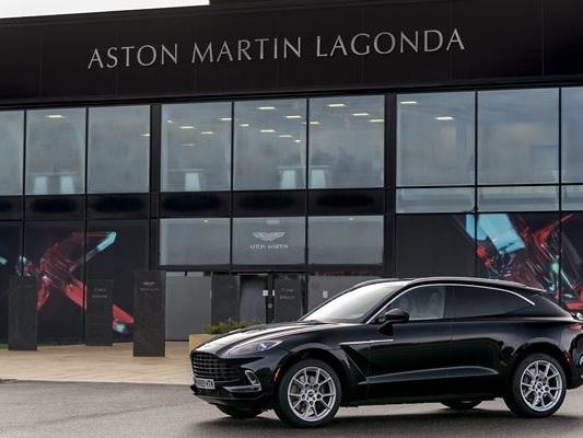 L'usine Aston Martin Lagonda de St Athan au Pays de Galles va produire le DBX