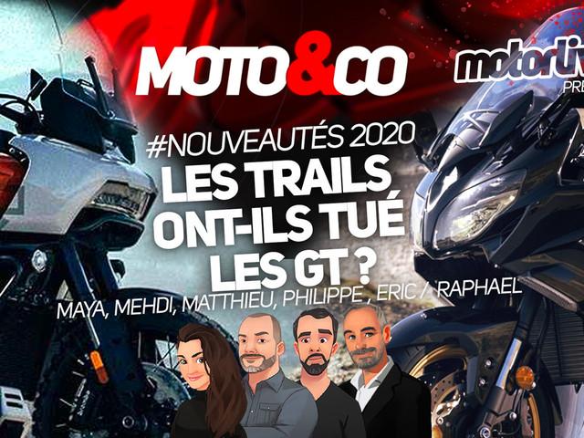 Moto&Co, nouveautés 2020 : les trails ont-ils tué les GT ?