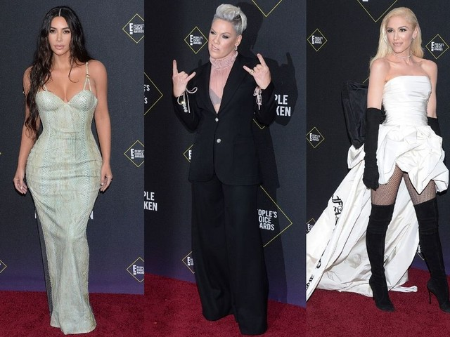 People's Choice Awards : Gwen Stefani, Pink, Kim Kardashian et Zendaya sur le red carpet
