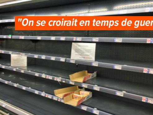 Pénurie de beurre: les rayons des magasins français sont désespérément vides