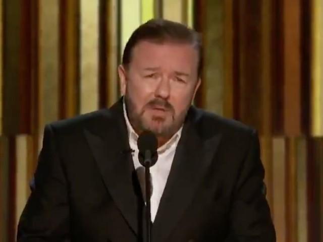 Aux Golden Globes 2020, Ricky Gervais n'a pas loupé Apple TV+