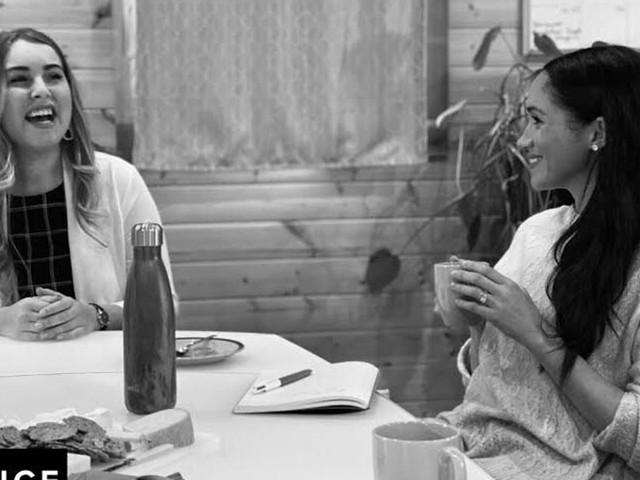 Meghan Markle a fait sa première sortie publique depuis le #Megxit