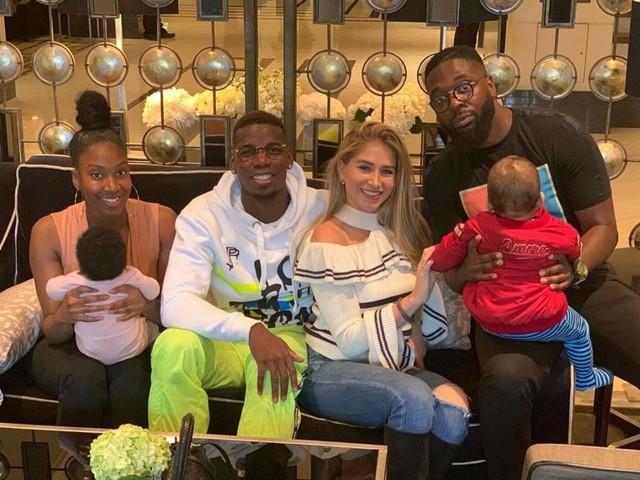 Paul Pogba dévoile le visage de son fils sur Instagram