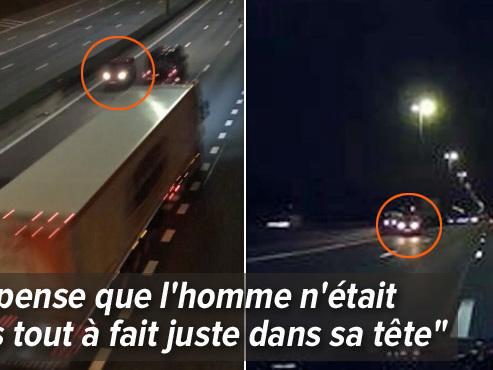 """Un conducteur fantôme a terrorisé le Ring de Bruxelles: """"J'ai croisé ce fou avec ma famille à bord, la vie ne tient à rien"""""""