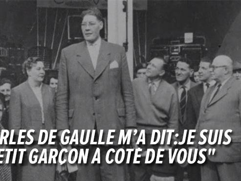 """""""Le Géant Atlas de Gerpinnes, 2,35 m, chaussait du 62"""": qui était ce Belge devenu célèbre à travers le monde? (vidéo)"""