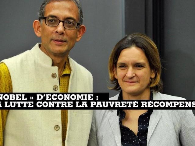 Nobel d'économie : la lutte contre la pauvreté récompensée