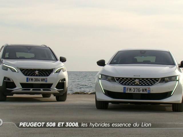 Peugeot 508 et 3008, les hybrides essence du Lion - Essai TURBO du 19/01/2020