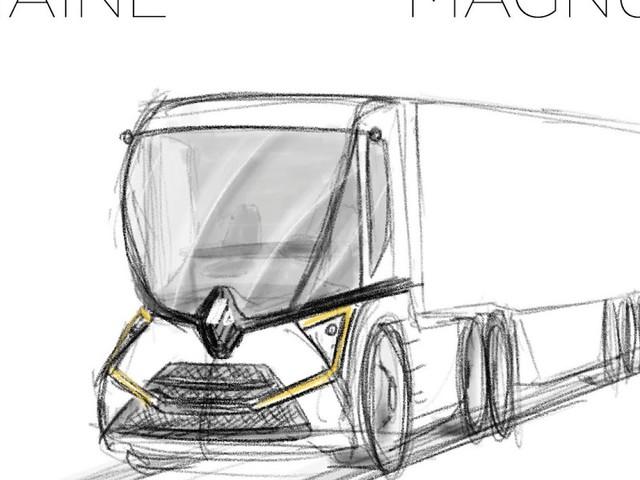 Le Croquis de la semaine, Renault Magnum 2
