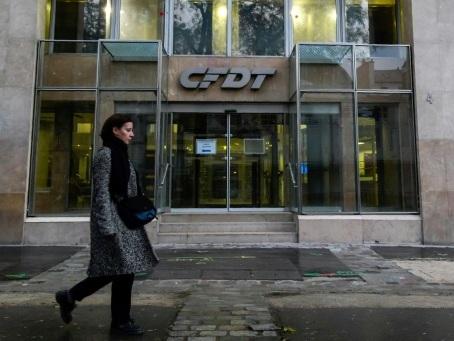 Retraites: la CFDT ciblée par deux intrusions en quatre jours d'opposants à la réforme