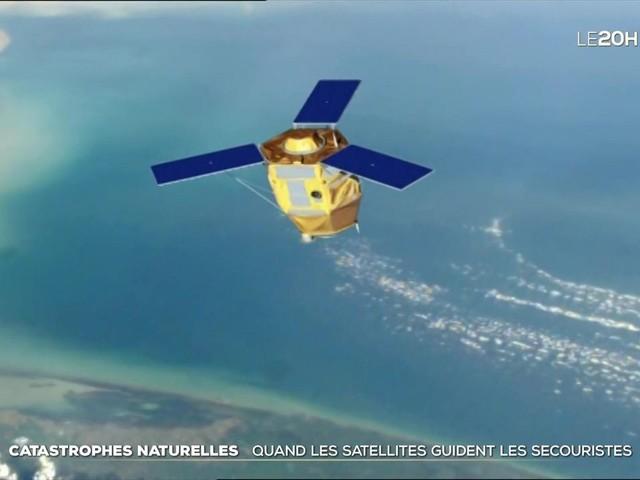 Satellites : le guide des secouristes lors des catastrophes naturelles