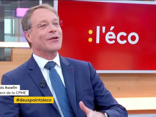 """VIDEO. François Asselin : """"Remettre les partenaires sociaux au centre du débat"""""""