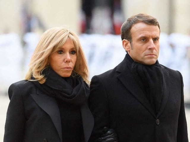 Emmanuel et Brigitte Macron menacés ? Un symbole de la Macronie incendié !