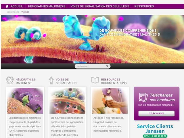 Nouveau site web pour tout savoir des hémopathies malignes