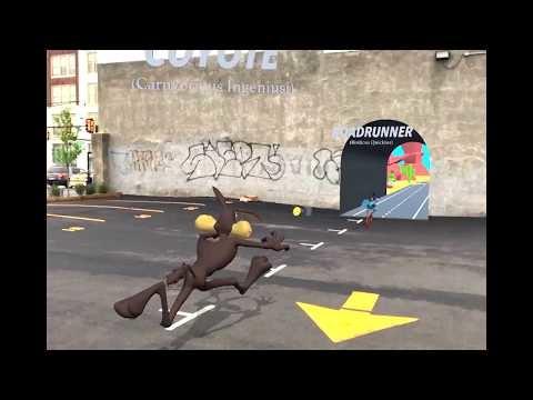 """Le créateur de """"Street Fighter"""" en Réalité Augmentée fait revivre les déboires de Will E Coyote avec Woody Wood Pecker (vidéos)"""
