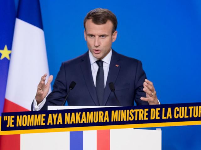 Top 22 des trucs que Macron peut dire pour sauver le navire ce soir, c'est le moment où jamais