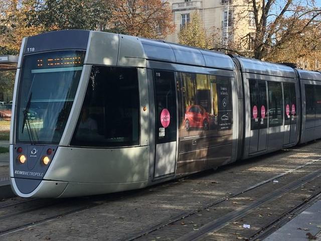 Le trafic des tramways perturbé à Reims après une panne électrique