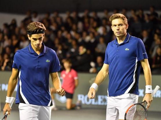 Tennis - Masters (DH) - Masters : Nicolas Mahut et Pierre-Hugues Herbert battus en finale du double