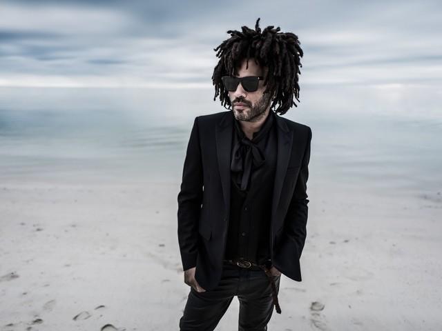 Lenny Kravitz batteur dans son clip réalisé par Mondino