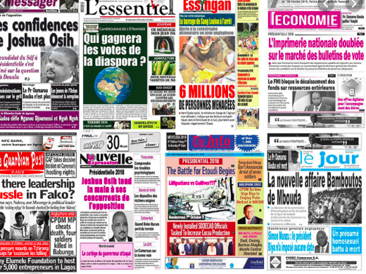 Budget 2020, gouvernance et politique en vitrine dans la presse camerounaise