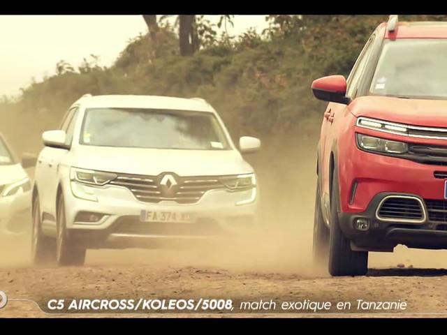 C5 Aircross / Koleos / 5008, match exotique en Tanzanie - Extrait TURBO du 17/03/2019