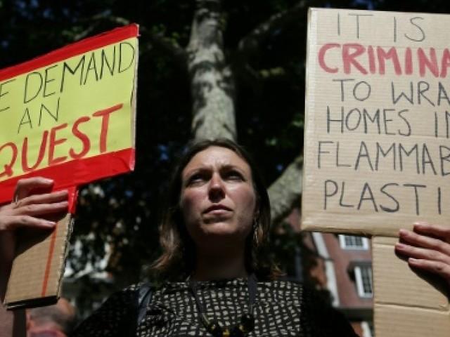 Incendie de Londres: deux victimes nommées, de nombreux disparus