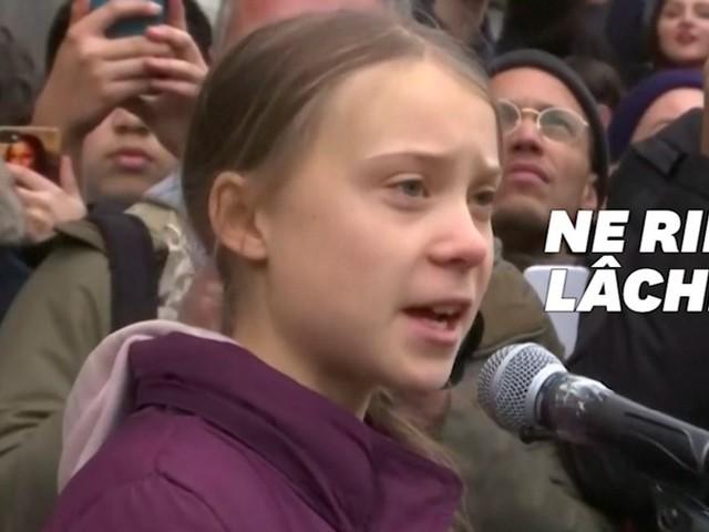 """Avant Davos, Greta Thunberg alerte les dirigeants mondiaux: """"Vous n'avez encore rien vu"""""""