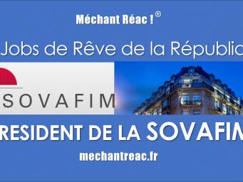Les Jobs de rêve de la République : « Président de la SOVAFIM »