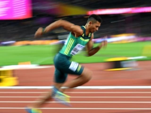 Athlétisme: Van Niekerk sur les traces de Johnson