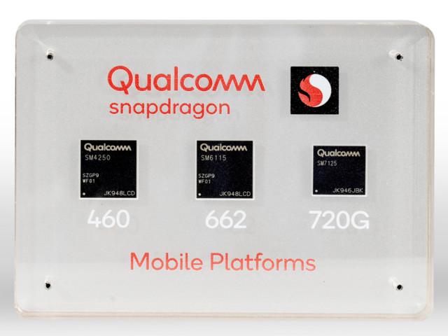 Qualcomm lance trois nouveaux SoC Snapdragon pour des smartphones sans 5G