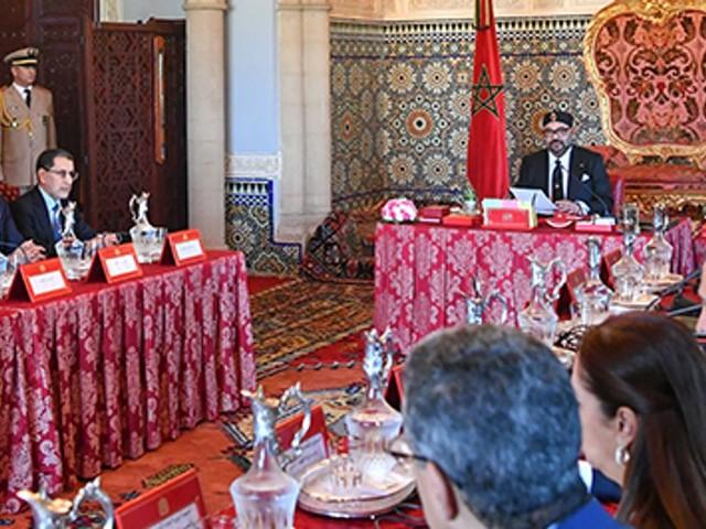 Le roi préside à Rabat un conseil des ministres
