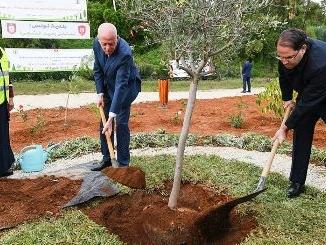Tunisie – IMAGES: Les présidents de la République et du gouvernement commémorent la fête de l'arbre