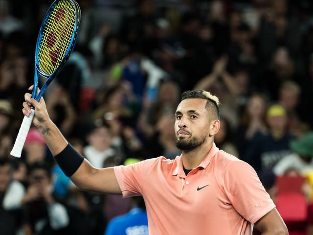 AO 2020 – Nick Kyrgios imite Nadal, passe au troisième tour et élimine Gilles Simon
