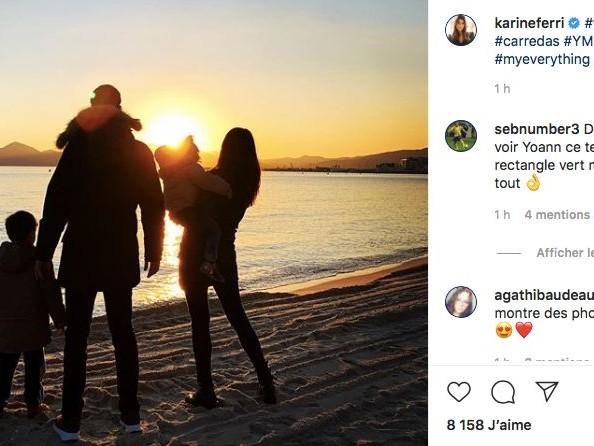 Karine Ferri dévoile un rare cliché de Yoann Gourcuff et leurs deux enfants en vacances