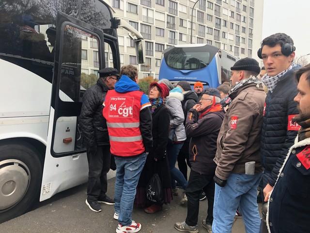 Grève du 10 décembre. Des départs du Val-de-Marne pour la manifestation parisienne