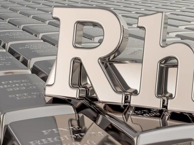 Le rhodium devient le métal le plus cher au monde