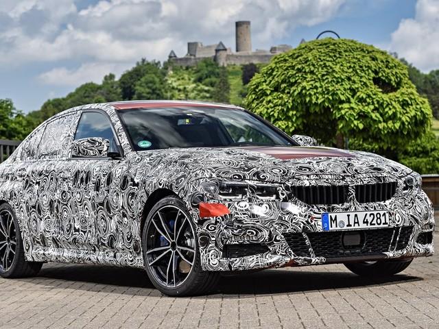 La BMW Série 3 2019… habillée en camouflage