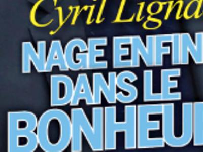 Cyril Lignac, le bonheur avec sa «brune», grande annonce (photo)