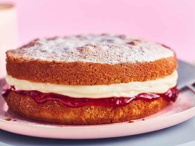 Victoria sponge cake au thermomix