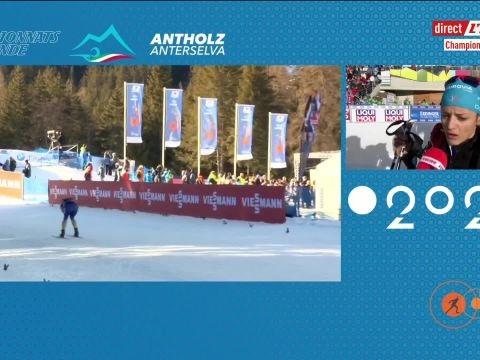 Biathlon - Mondiaux (F) - Célia Aymonier, après l'individuel des Mondiaux: «Ça me saoule»