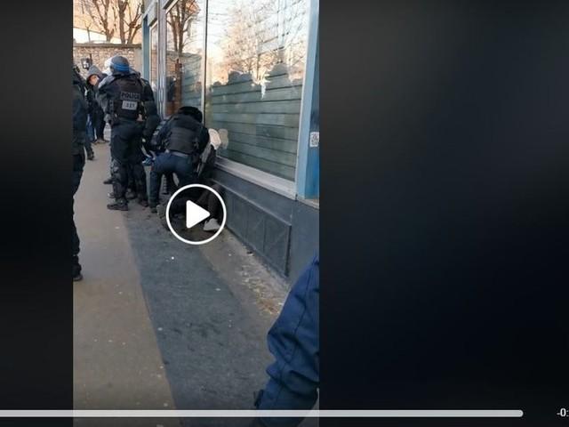 Retraites - Vidéo d'un manifestant frappé au sol par un policier : une enquête est ouverte