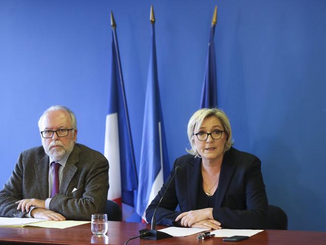 Soupçons d'emplois fictifs au Parlement européen : le FN mis en examen