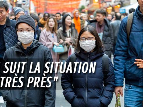 Coronavirus: trois Belges se trouvent dans la province chinoise mise en quarantaine