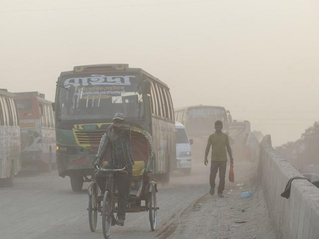 Les bienfaits d'une réduction de la pollution de l'air se font vite sentir