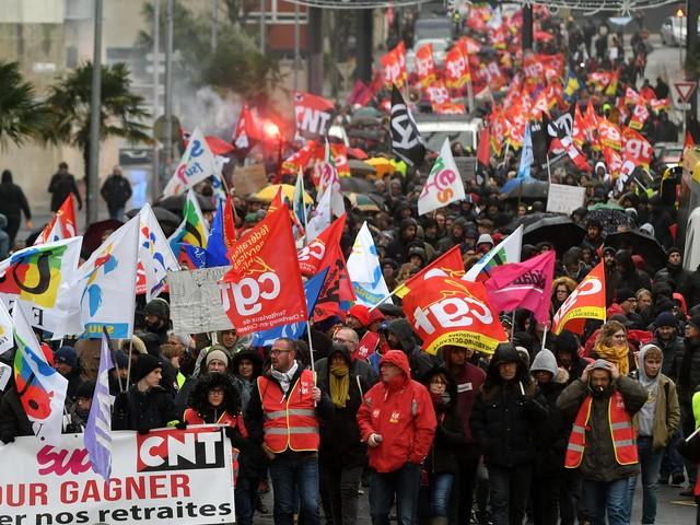 Réforme des retraites : des actions ce samedi à Cherbourg, et mobilisation dès 4 heures mardi