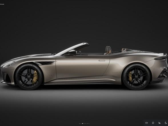 Aston Martin: quelques nouveautés pour la gamme