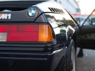 Avec 13 000 km, une BMW M1 de 1981 à vendre pour 658.000 dollars !