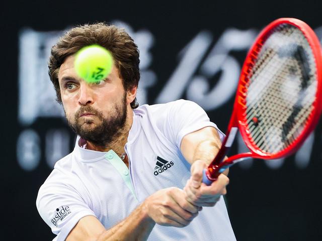 Tennis: dure reprise pour Gilles Simon, vainqueur malgré tout de son premier match à Nice